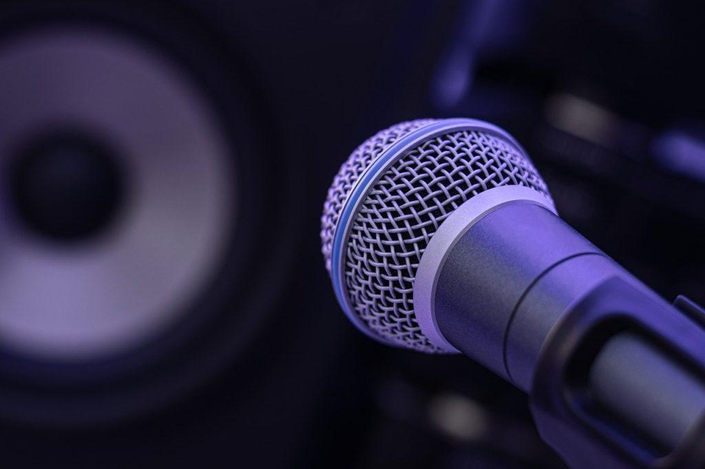music, speakers, sound